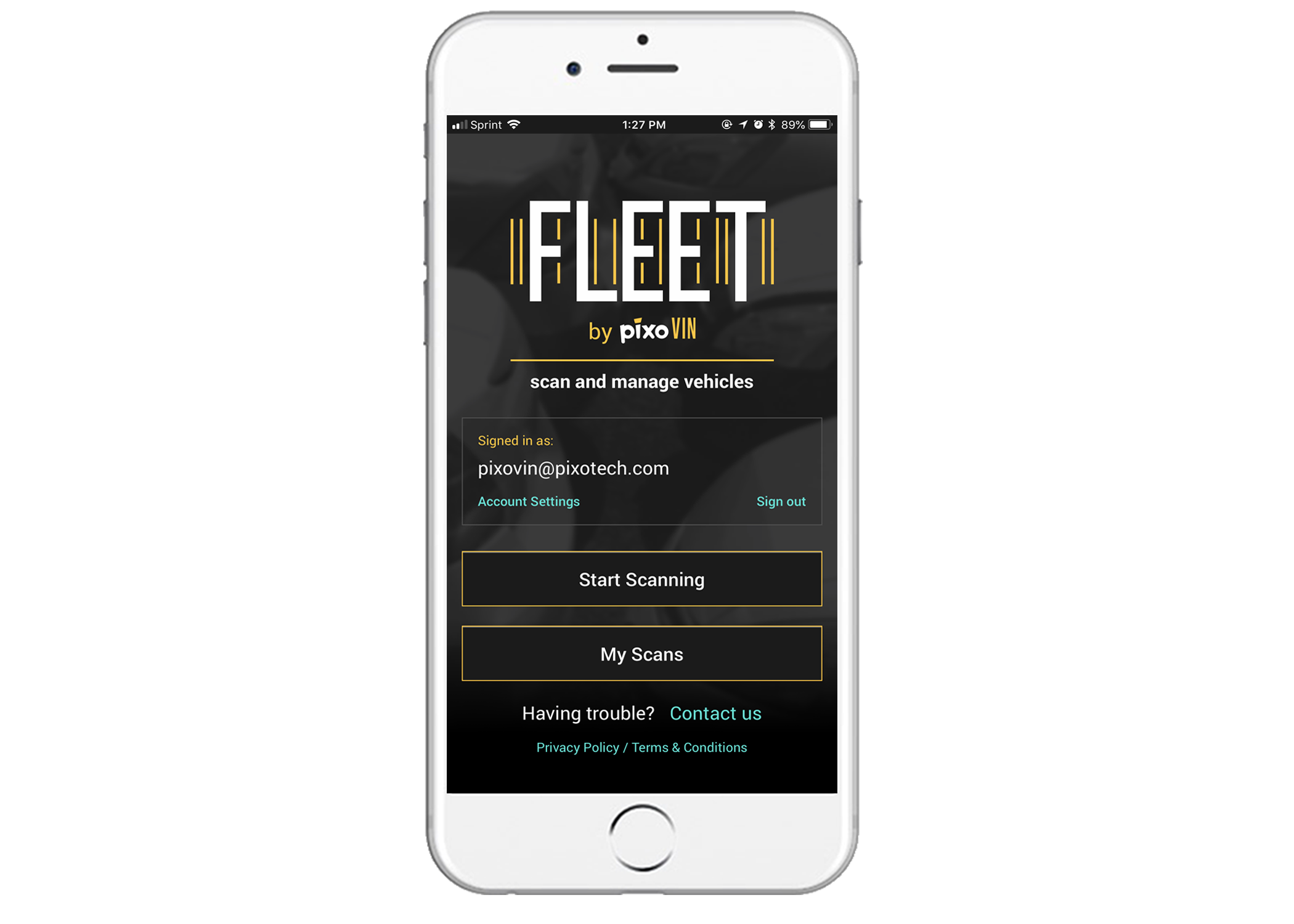 Vin Number Scanner >> Fleet Pixovin